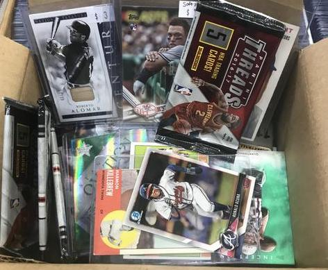 The Ultimate Mystery Sports Card Collectors Bargain Box
