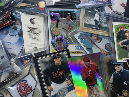 "Turn Back The Price Deal #10 Over 1000 Sold** The  ""Pick Your Sport"" Baseball, Basketball, or Football Mystery Lot of 100+ RC's, Game Used, Stars, Prospects, Inserts, Parallels, Refractors, HOF and More!"