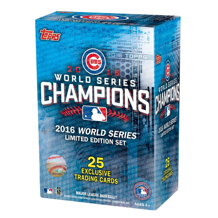 12 Days of Christmas Deal - Chicago Cubs 2016 Topps Chicago Cubs World Series Commemorative 25 Card Set