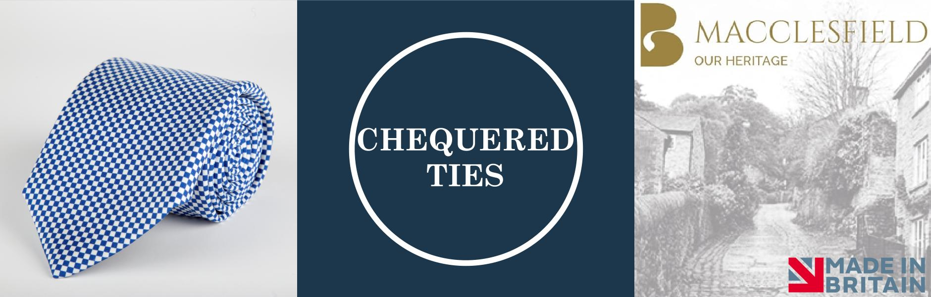 Chequered Silk Ties