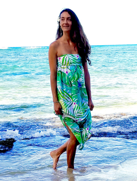 Jungle Watercolor Custom Maxi