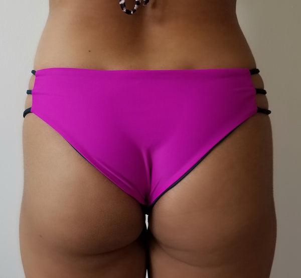 Very Fuchsia/Asphalt Bequia Bottoms