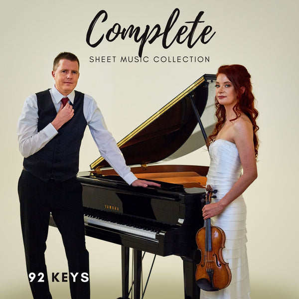 Complete Sheet Music Collection | Violin & Piano | 92 Keys