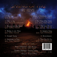 Spring of Fire CD - 92 Keys