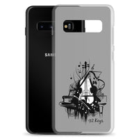 Samsung Case - Violin & Piano Design - 92 Keys