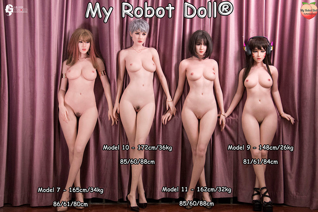 Gynoid Bodies Comparison