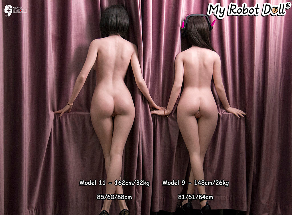 Gynoid Bodies Comparison From The Back