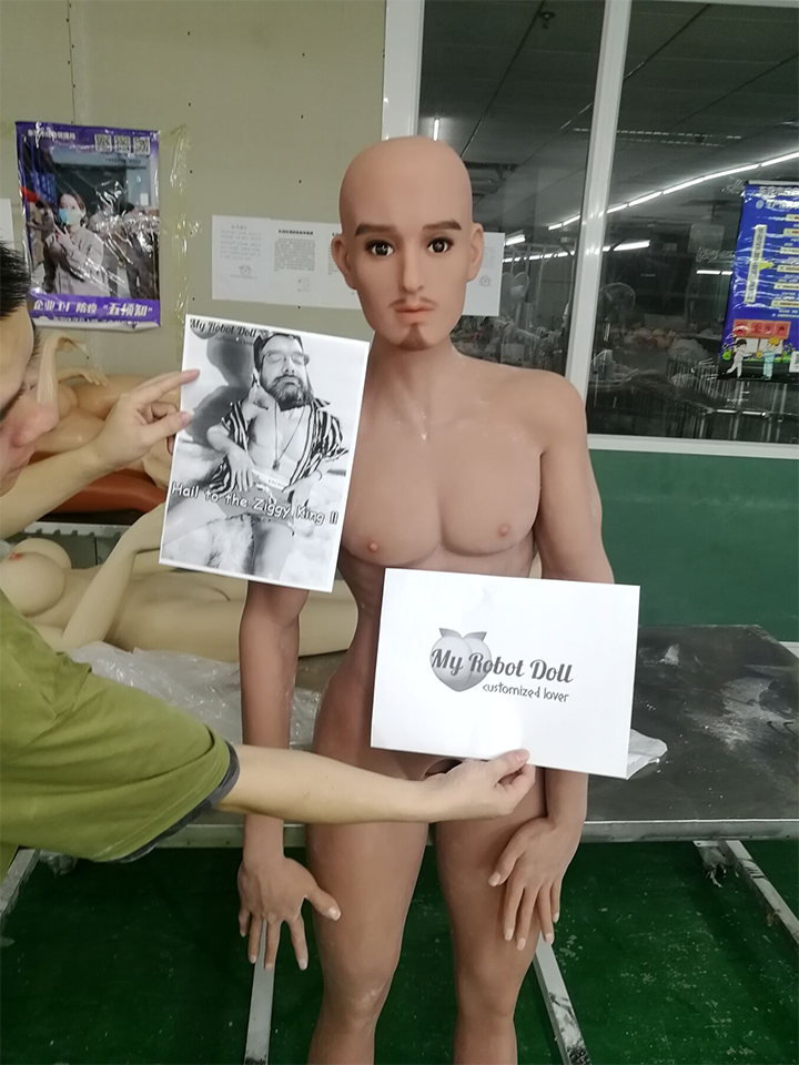 RF Doll: Carter Head + 165cm TPE Body Light Tan pre-shipment photo