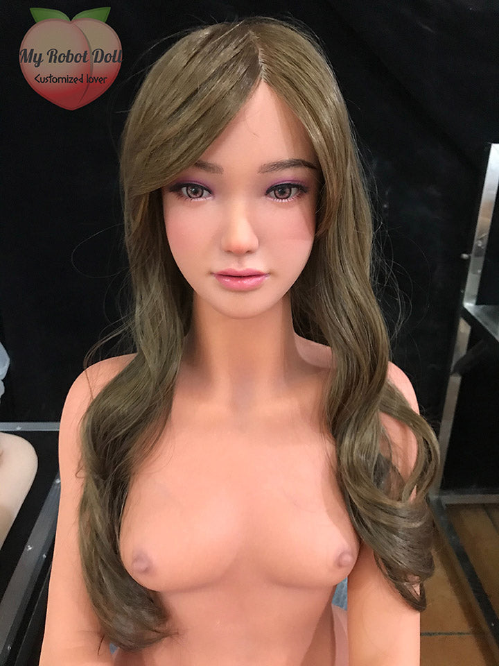 Sino-doll: S35 Head + Body 158cm Light Tan Full R+S face and body make-up effect
