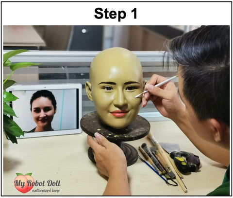 MyRobotDoll.com Build Custom Sex Doll Facial Expression