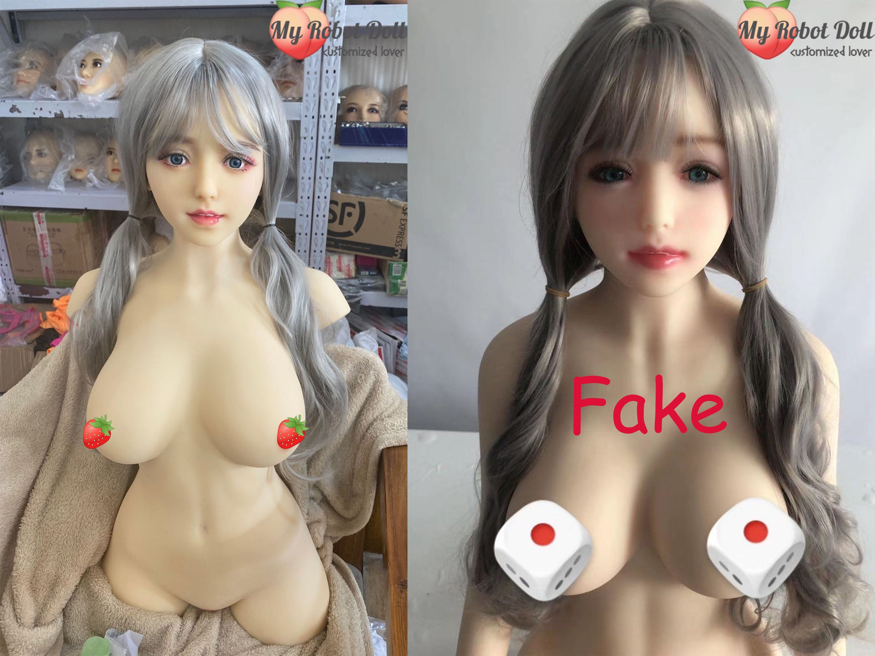 myrobotdoll.com real sex doll VS fake sex doll