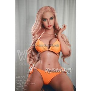 Sex Doll Head #233 WM Doll - 156cm H Cup / 5'1""