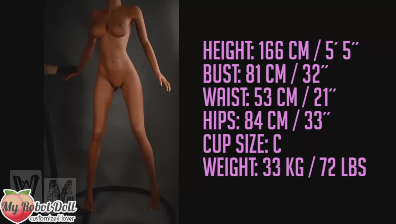 Sex Doll Head #242 WM Doll - 166cm C Cup / 5'5""