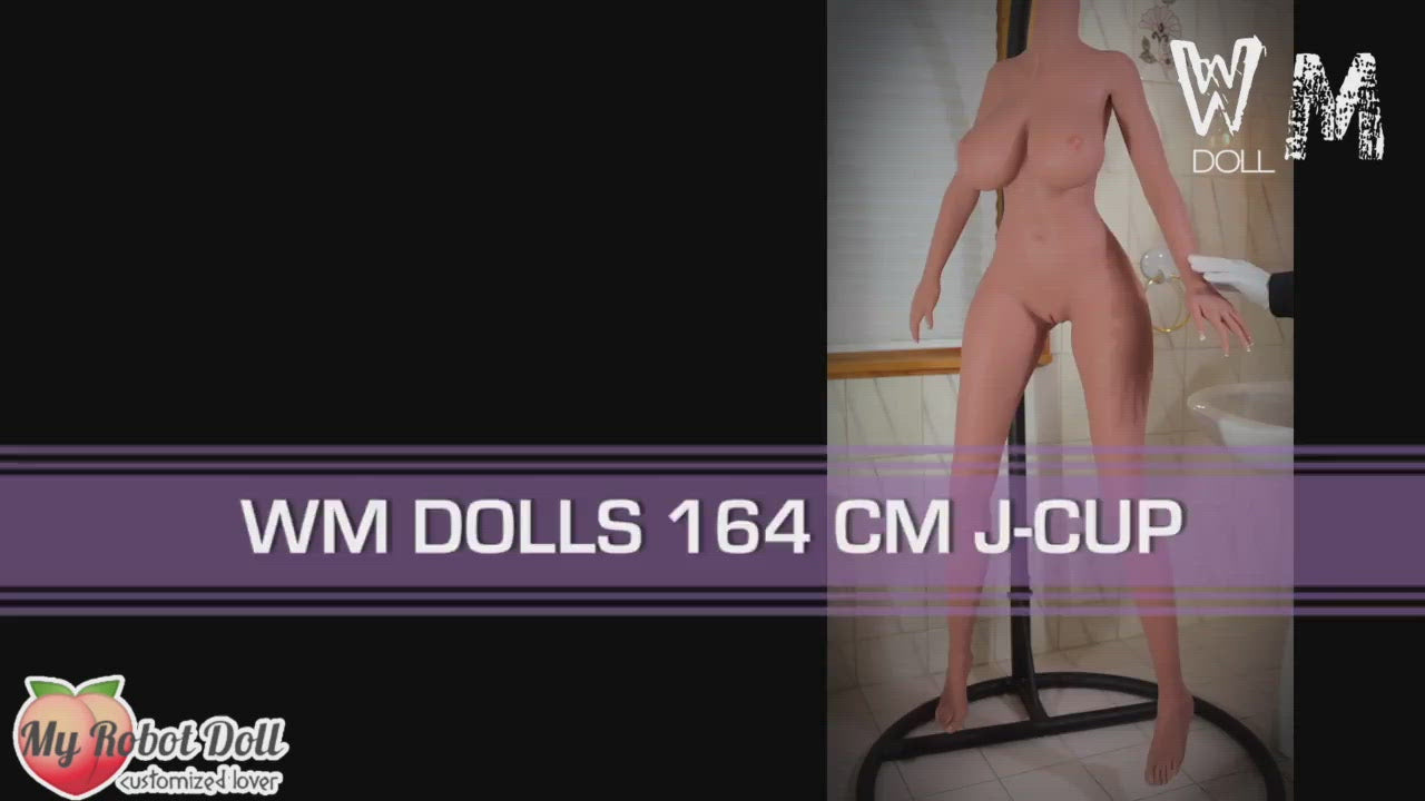 Sex Doll Head #230 WM Doll - 164cm J Cup / 5'5""