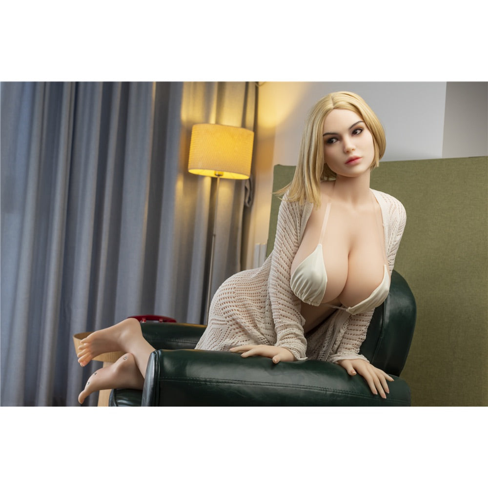 Sex Doll Hisa Siliko Doll Head #J7 - 160cm / 5'3""
