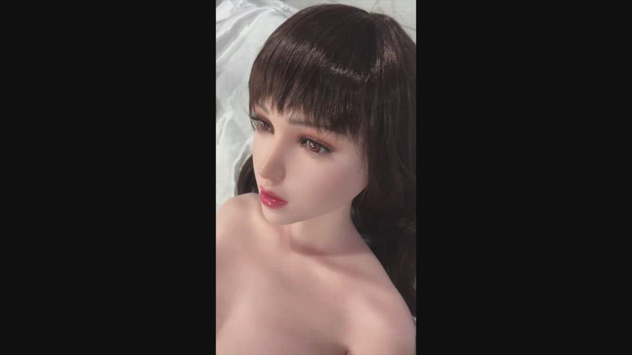 HOT Sex Doll Elena Gynoid Head #6 Model 9 - 148cm / 4'10""