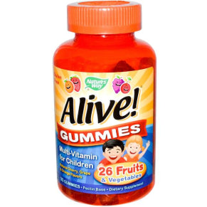 Alive Multi-Vitamin for Children, 90 Gummies
