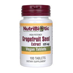 Grapefruit Seed Extract, 125 mg, 100 Tablets