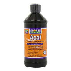 Acai SuperFruit Antioxidant Liquid Concentrate, 16 fl oz (Now Foods)