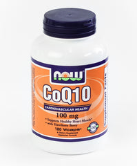 CoQ10 With Hawthorn Berry 100 mg 180 vcaps
