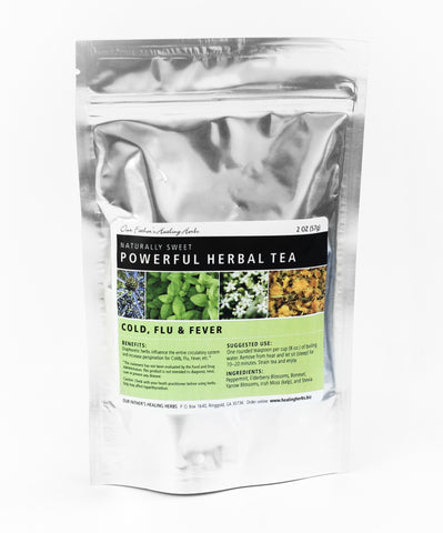Cold, Flu, Fever - Herbal Tea