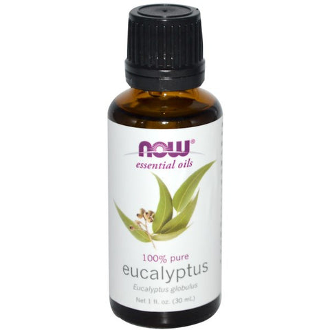Eucalyptus Essential Oil, 1 fl oz (NOW)