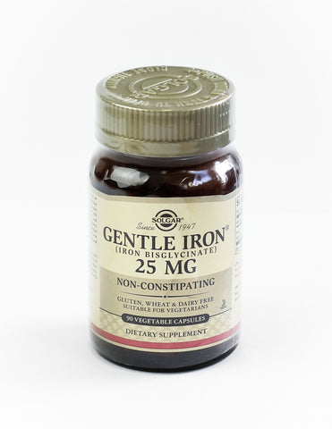 Gentle Iron, 25 mg, 90 Vcaps