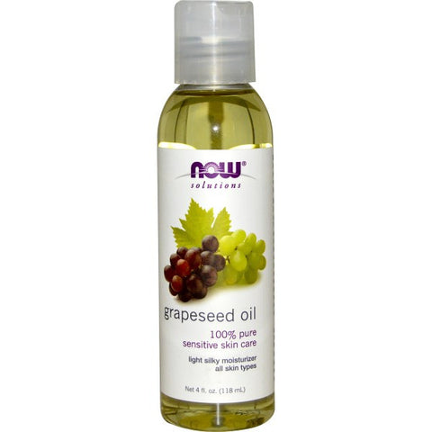Grapeseed Oil, 4 fl oz (Now Foods)