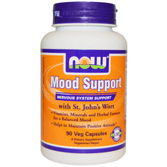 Mood Support with St. John's Wort, 90 Vcaps (Now Foods)