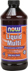 Liquid Multi-Vitamin, Wild Berry Flavored, 16 fl oz (Now Foods)