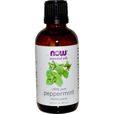 Peppermint Essential Oil, 2 fl oz (NOW)