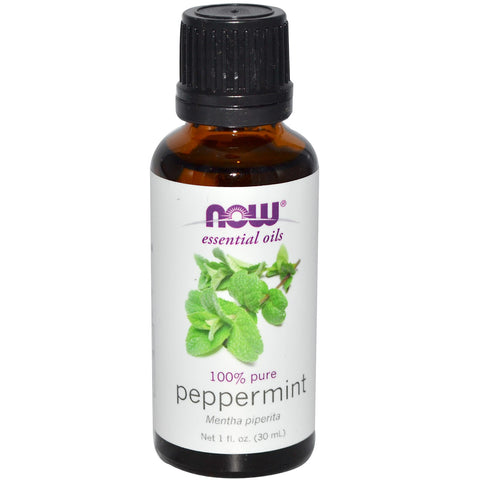 Peppermint Essential Oil, 1 oz (Now Foods)