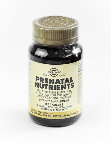 Solgar, Prenatal Nutrients, 120 Tablets