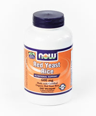 Red Yeast Rice Organic 600 mg 240 vcaps