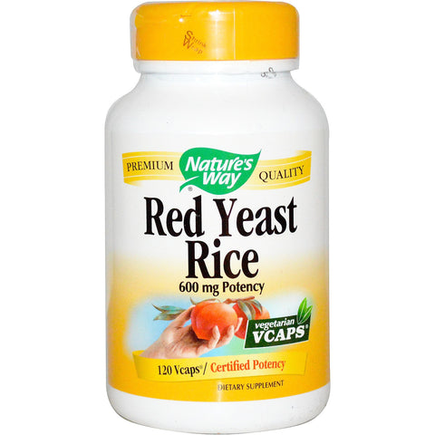 Red Yeast Rice, 600 mg, 120 Vcaps
