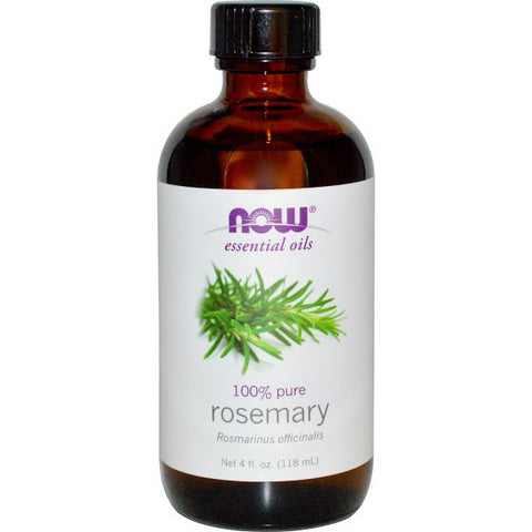 Rosemary Essential Oil, 4 fl oz (Now Foods)
