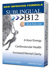B-12 with B-6 & Folic Acid (sublingual)
