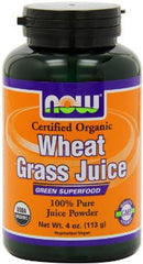 Wheat Grass Juice, Powdered, 4 oz