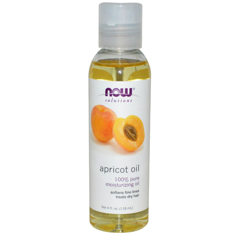 Apricot Oil, 4 fl oz (Now Foods)