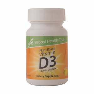 Vegetarian D-3, 1000 IU, 60 Capsules (soft Gel)