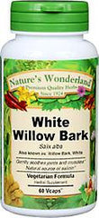 White Willow Bark, 60 Vcaps