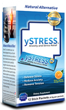 ySTRESS anxiety and Stress Relief, 12 Stick Packets