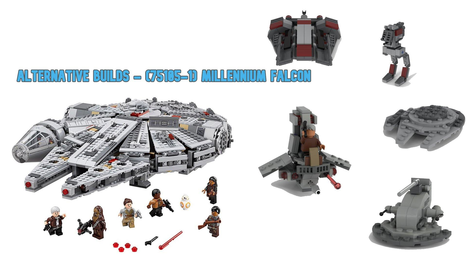 Alternative Builds - (75105-1) Millennium Falcon