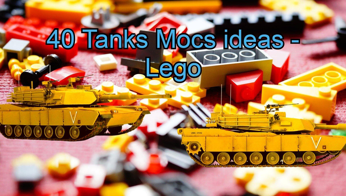 33 Tanks ideas - Lego