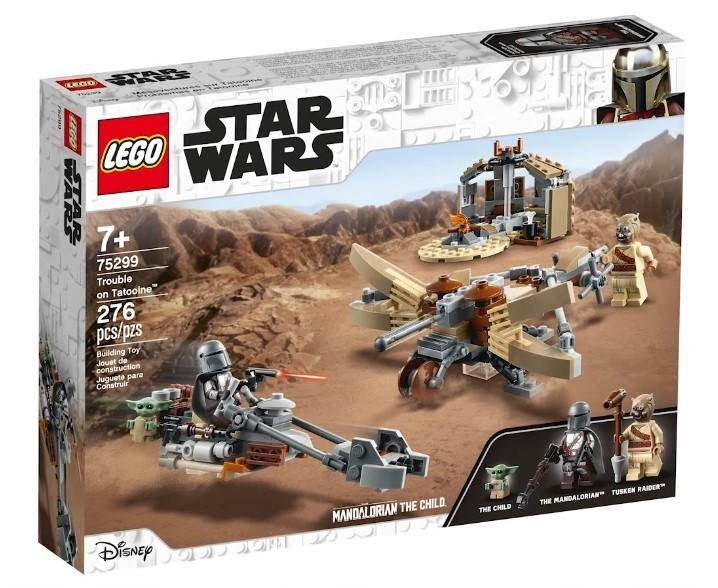 Lego Set 75299 Trouble on Tatooine