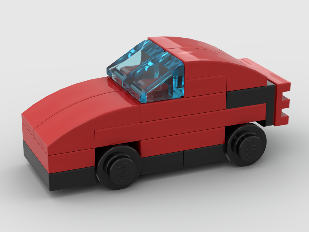 How to build Lego micro car