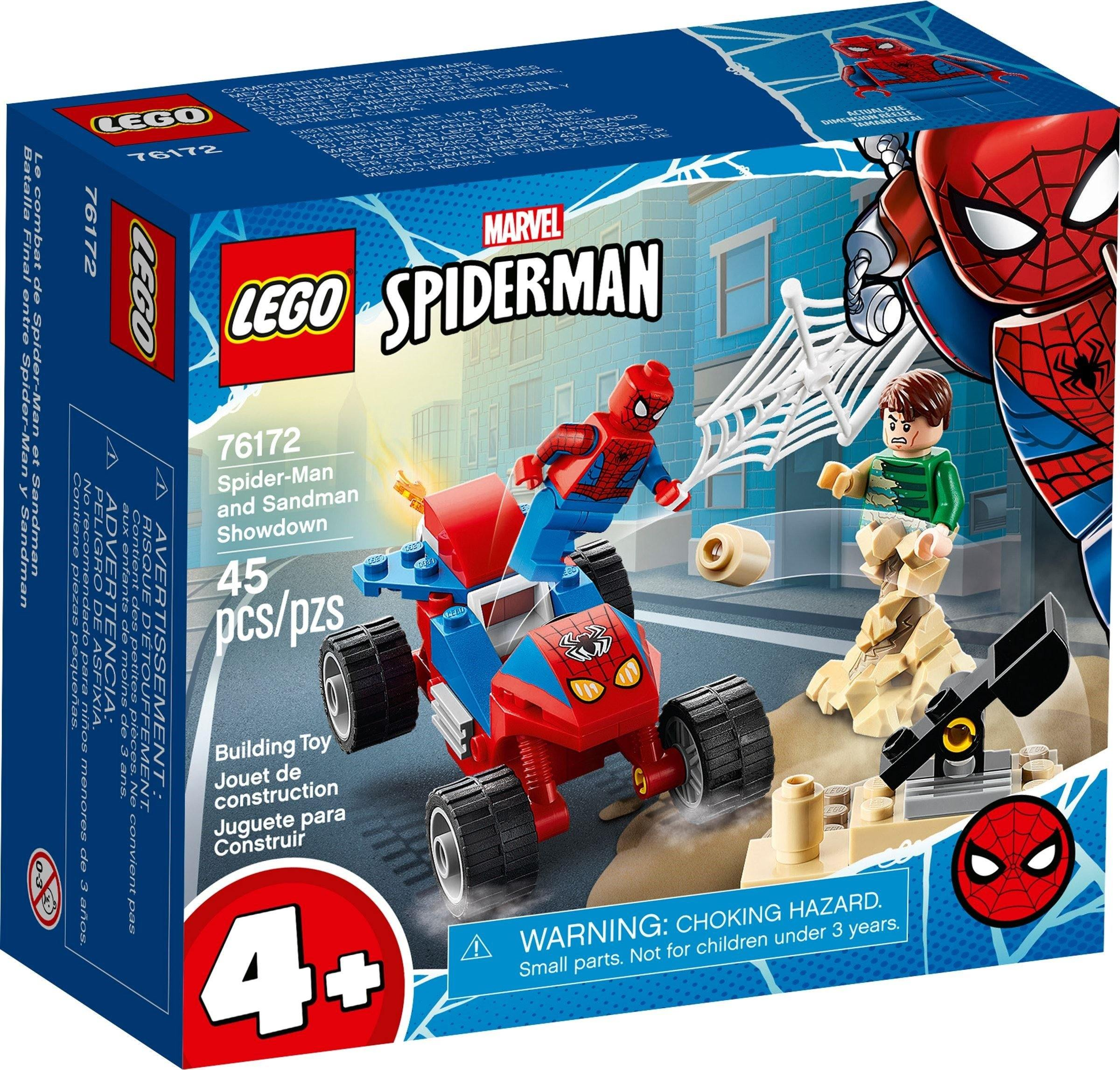 Lego Set 76172 Spider-Man and Sandman Showdown