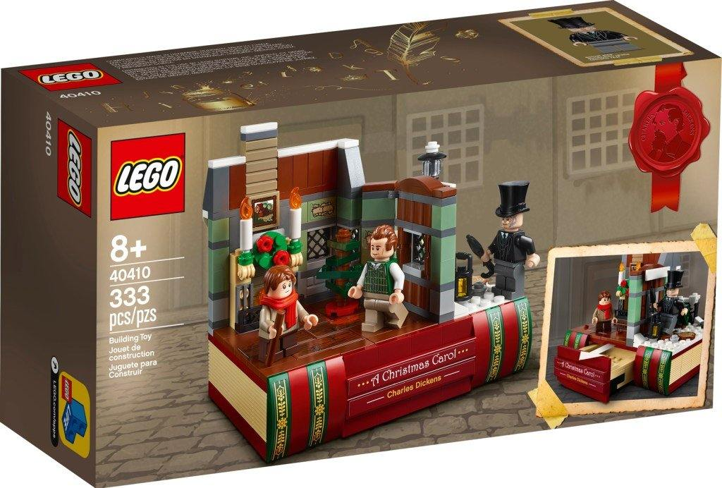 Lego set 40410 Charles Dickens Tribute