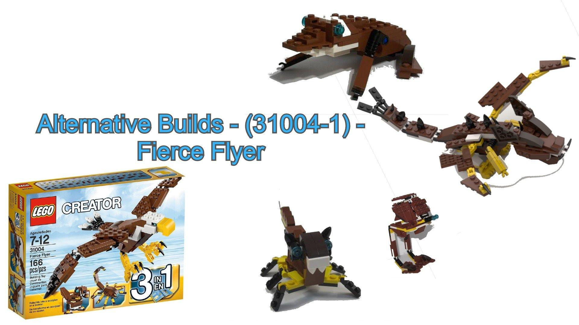 Alternative Builds - (31004-1) - Fierce Flyer