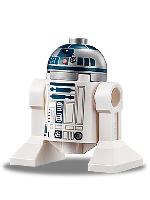 how to build Lego mini r2d2